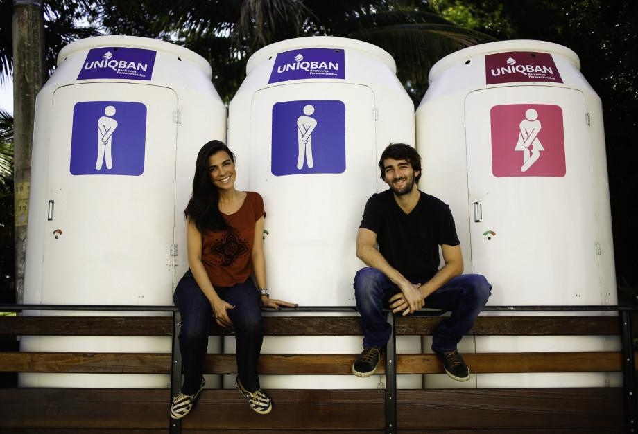 UNIQBAN é o primeiro banheiro químico personalizável do Brasil!