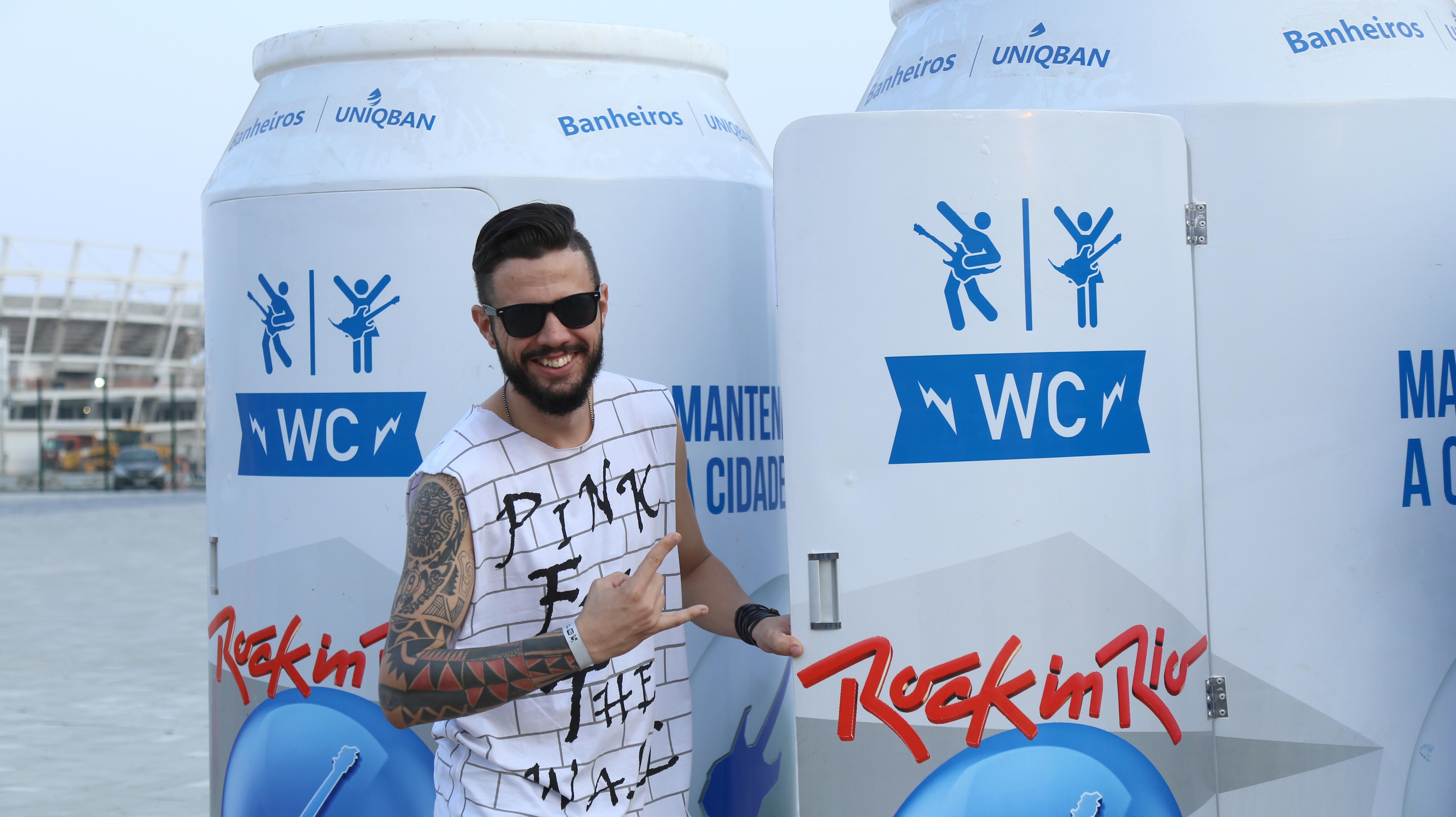 Os fãs do Rock in Rio aprovaram a escolha do festival.