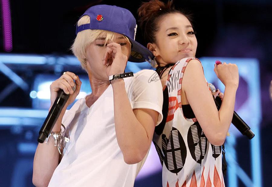 G-Dragon e Sandara