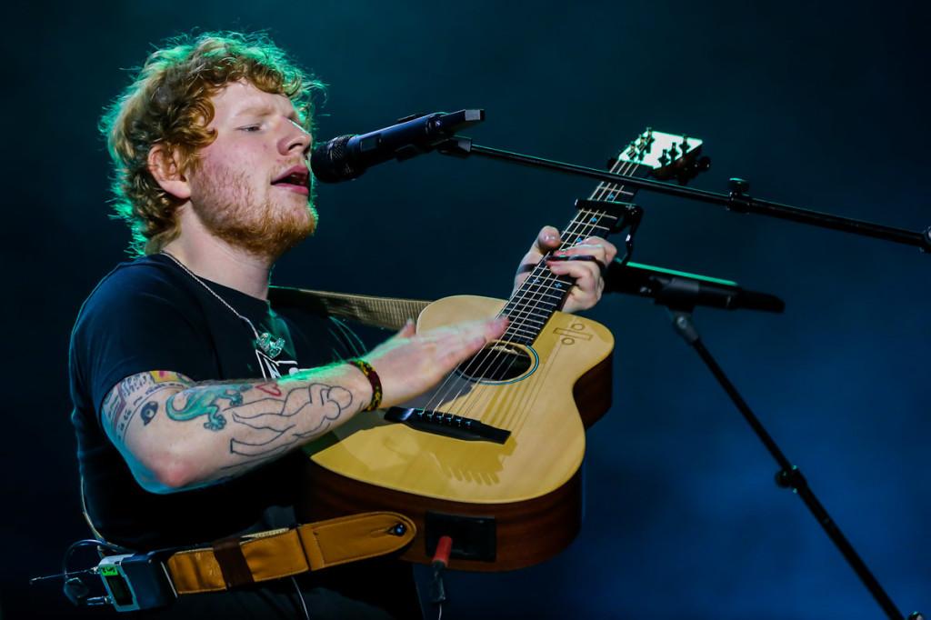 Ed Sheeran faz show apoteótico em São Paulo (Crédito: Manuela Scarpa/Brazil News)