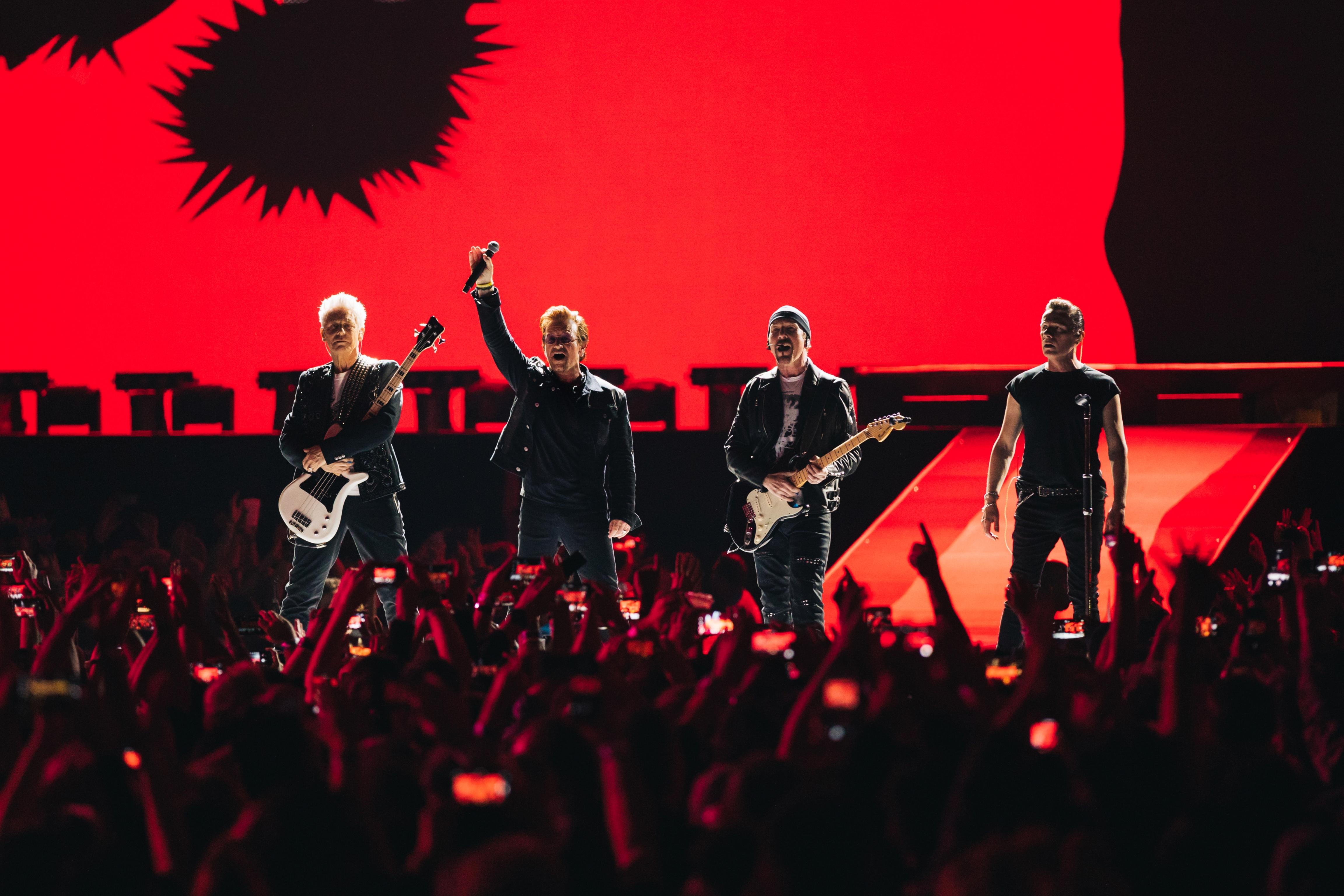"""U2 estreou a turnê """"The Joshua Tree Tour 2017"""" no dia 12 de maio, em Vancouver, no Canadá (Foto: Danny North)"""
