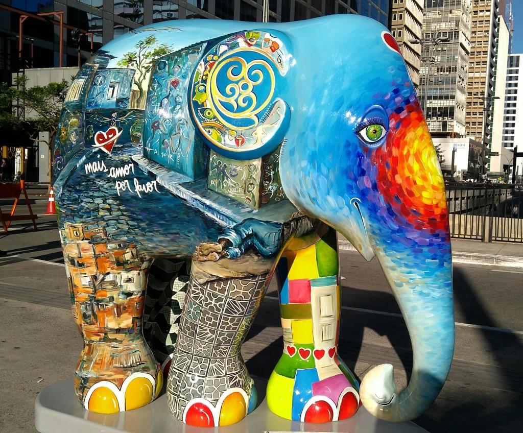 Elefante Amor da Elephant Parade