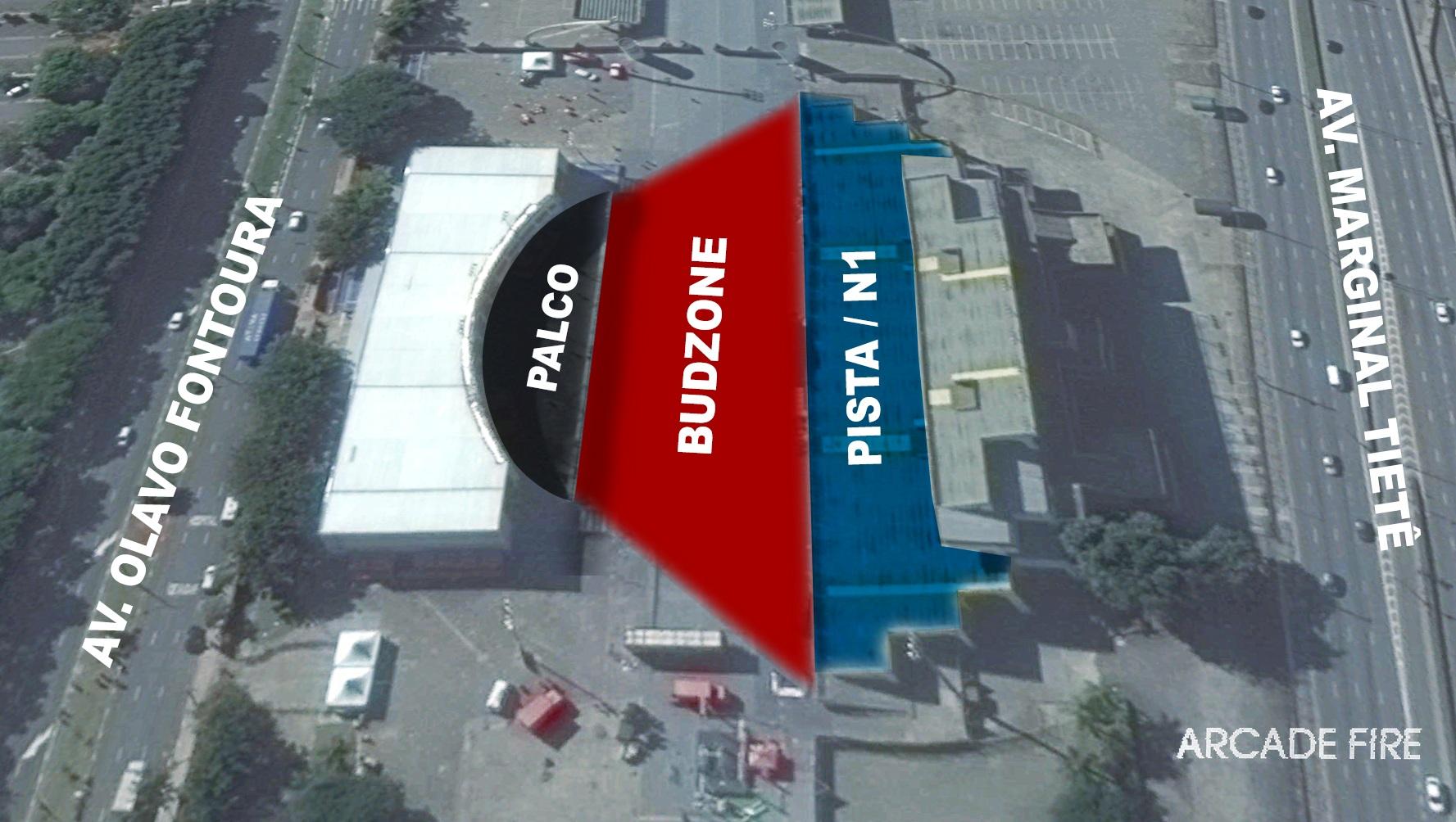 Arena Anhembi - Portoes de entrada