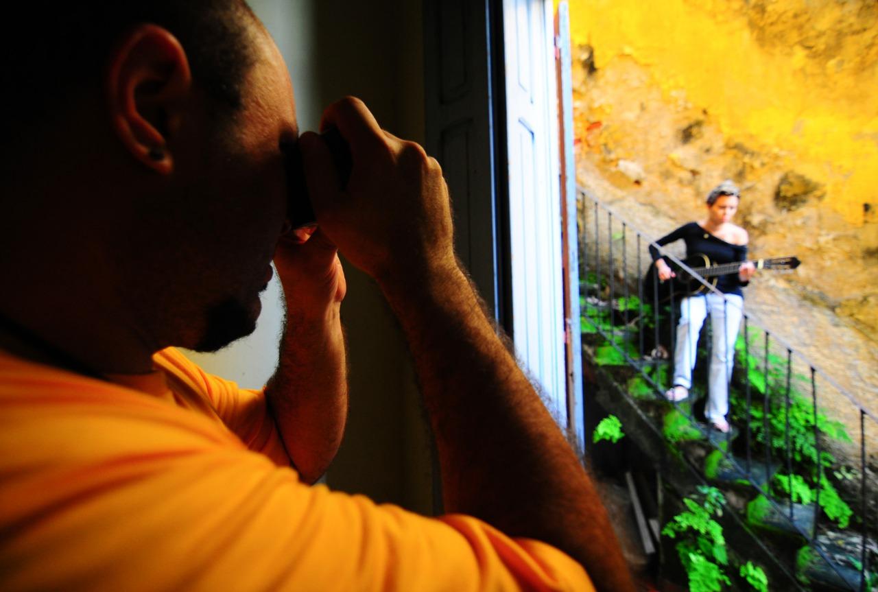 Marcos Hermes fotografa Maria Gadú (Crédito: Pedro Carrilho)