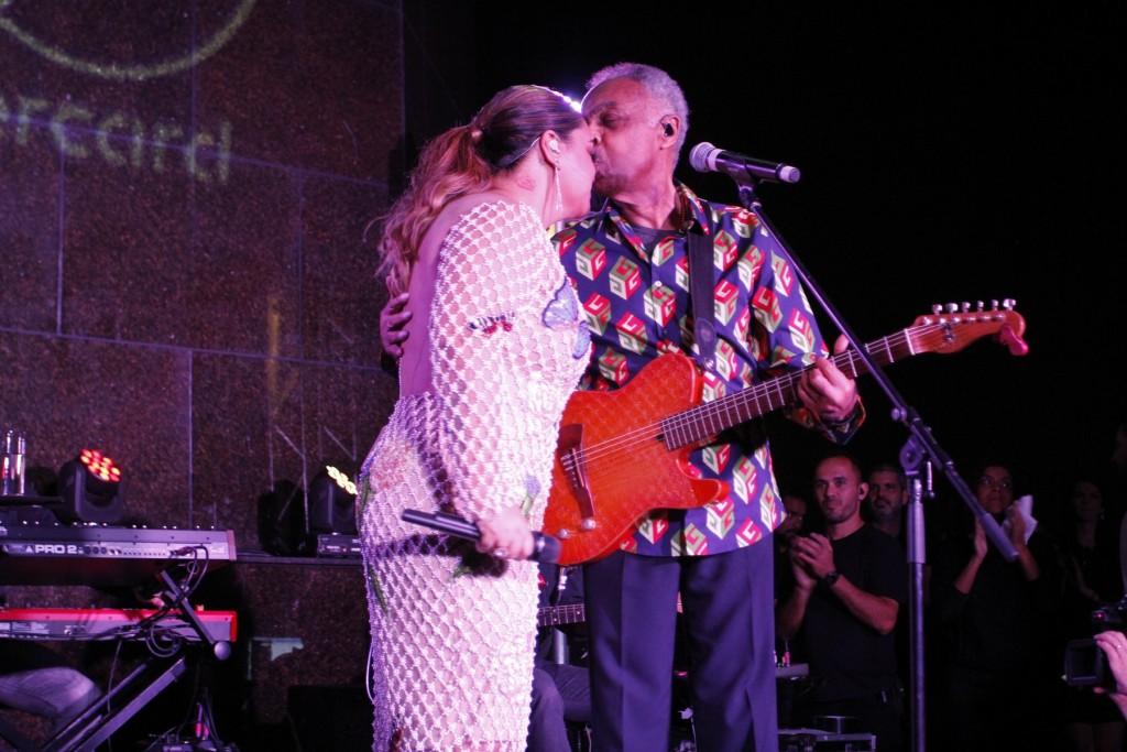 Preta e Gilberto Gil - Crédito: Thyago Andrade/Brazil News
