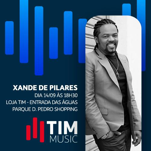 Tim Music Xande de Pilares - Credito Divulgacao