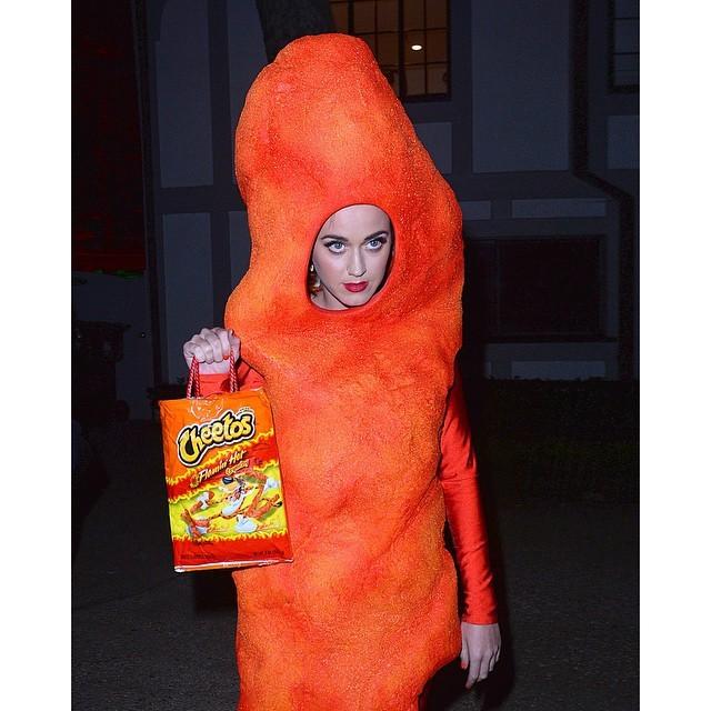 Katy Perry como Cheetos em 2014