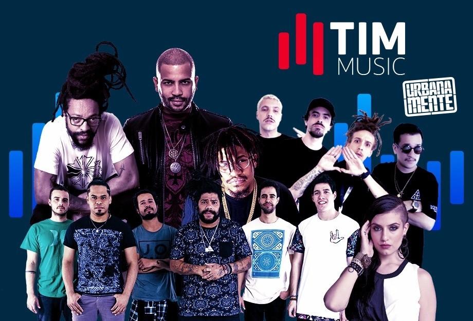 TIM Music Urbanamente Banner