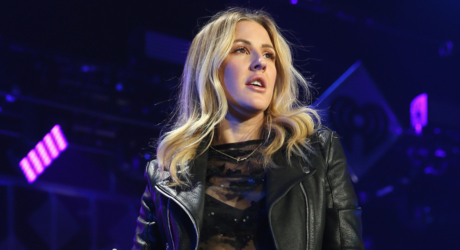 ROSEMONT, IL - DECEMBER 14:  Singer Ellie Goulding performs onstage during 103.5 KISS FM's Jingle Ball 2016 at Allstate Arena on December 14, 2016 in Rosemont, Illinois.  (Photo by Tasos Katopodis/Getty Images for iHeart)