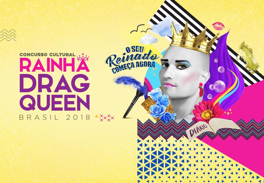 ConcursoCultural RainhaDragQueen Credito Divulgacao