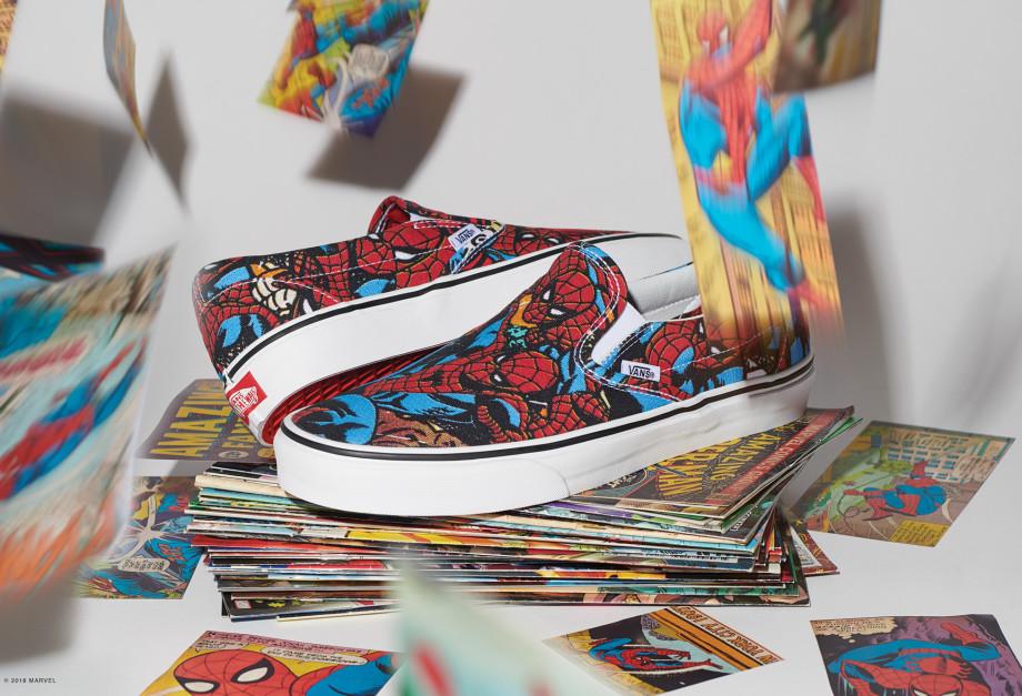 aeac8abf4a7 Vans se une com a Marvel em uma incrível coleção colaborativa ...