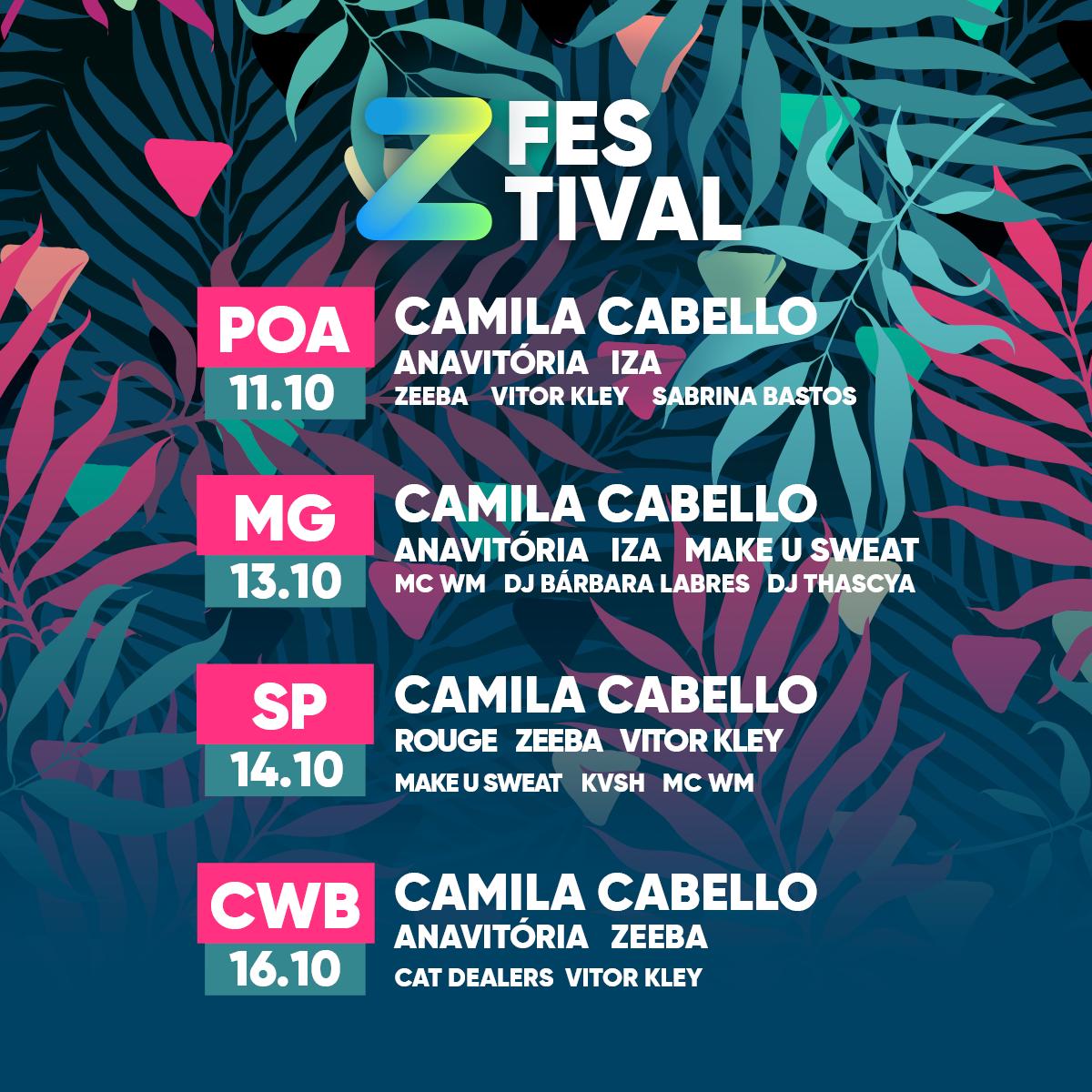Z Festival LineUP