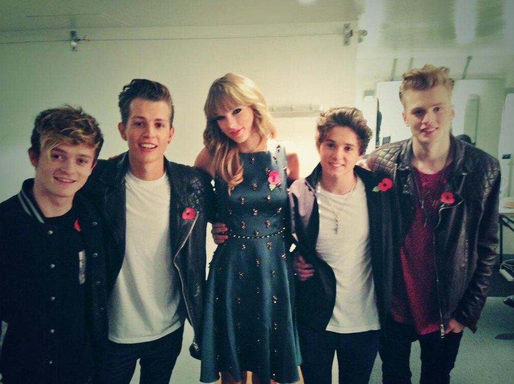 The Vamps + Taylor