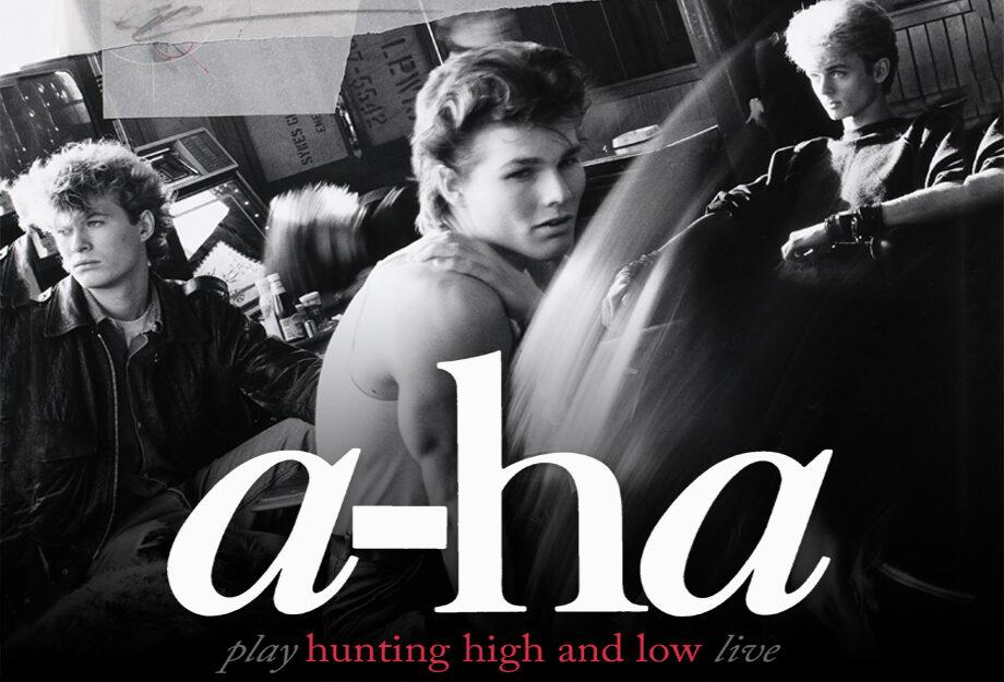 Resultado de imagem para a-ha play hunting high & low